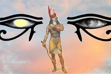 Bí mật đôi mắt vị thần Ai Cập tượng trưng Mặt Trời - Mặt Trăng