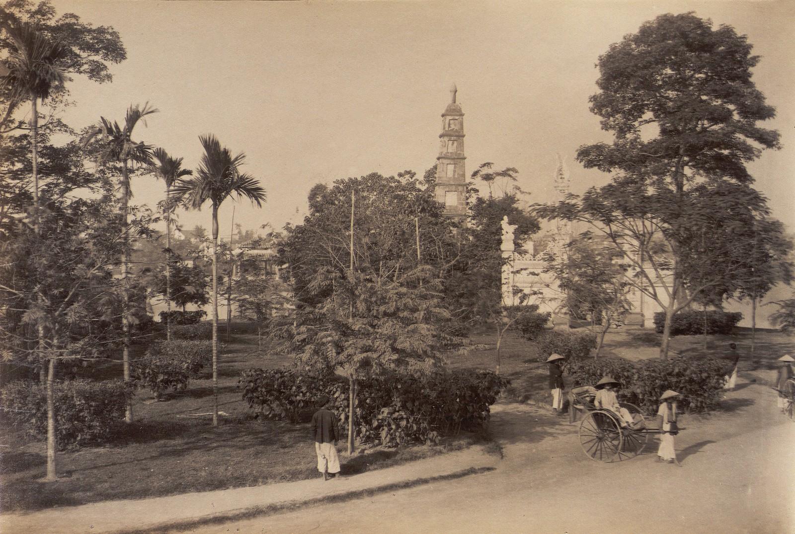Anh cuc hiem ve ho Hoan Kiem thap nien 1890-Hinh-4