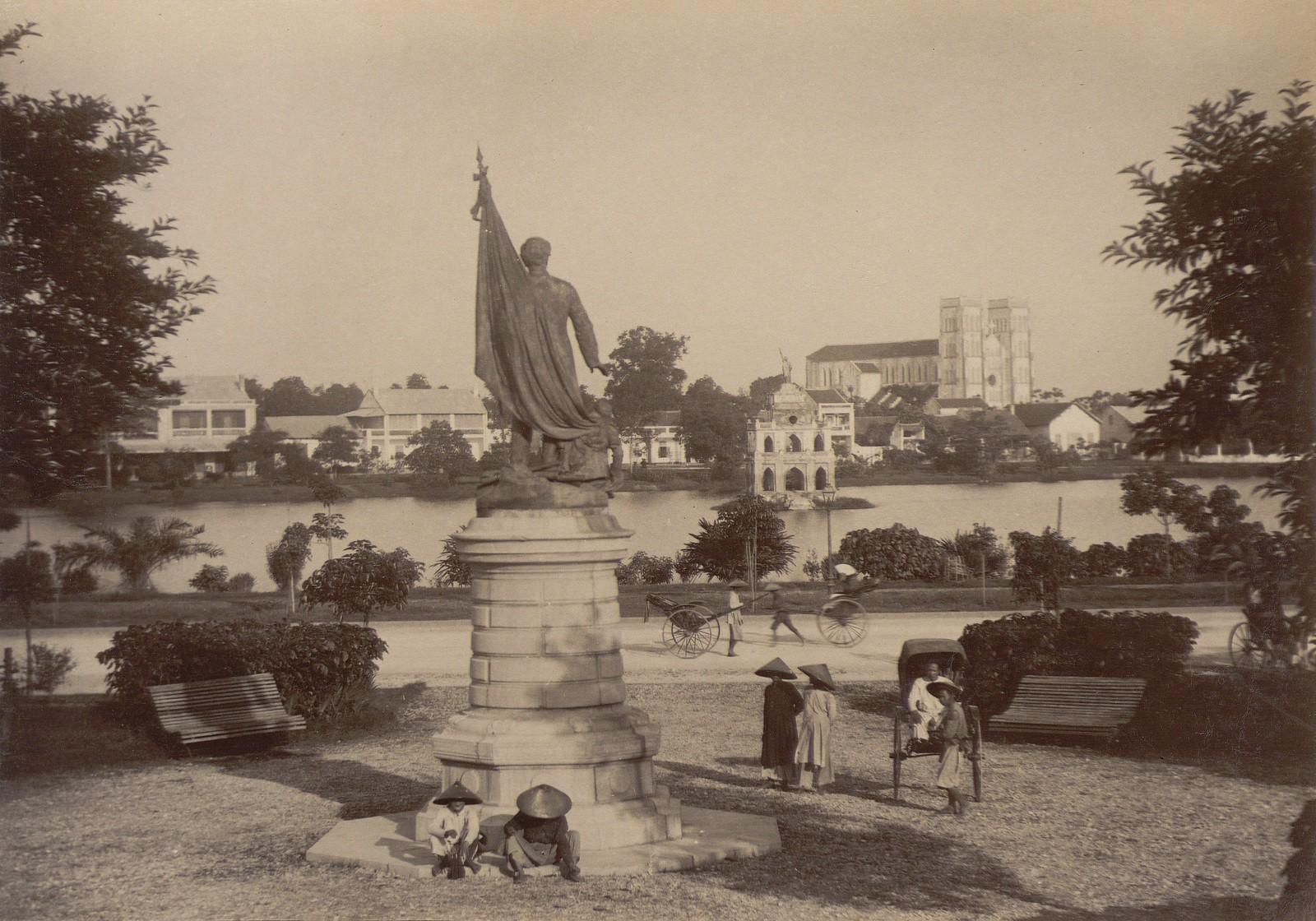 Anh cuc hiem ve ho Hoan Kiem thap nien 1890-Hinh-7