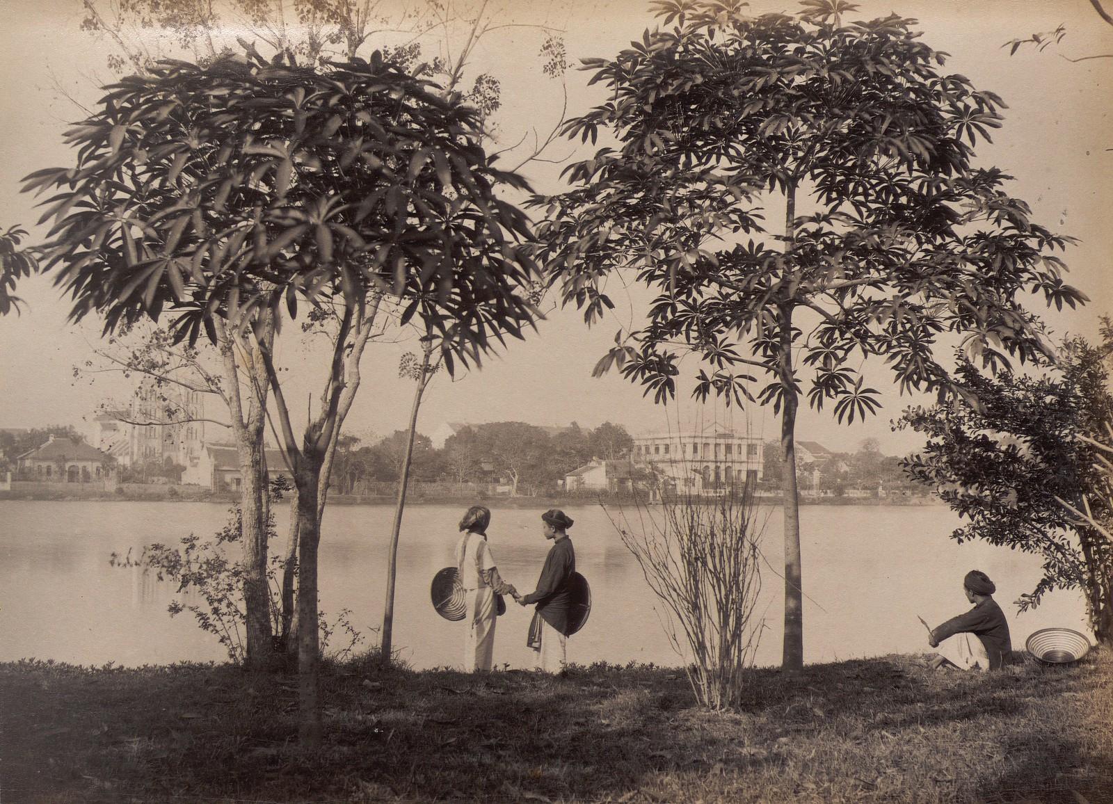 Anh cuc hiem ve ho Hoan Kiem thap nien 1890-Hinh-8