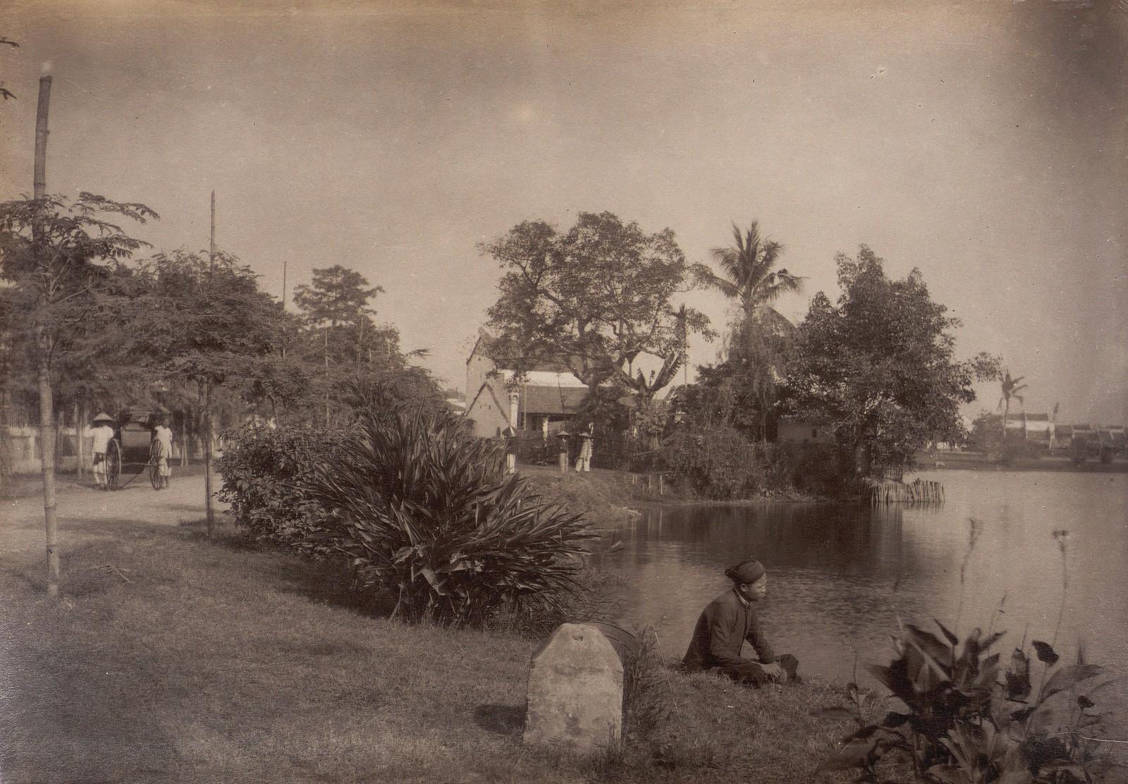 Anh cuc hiem ve ho Hoan Kiem thap nien 1890