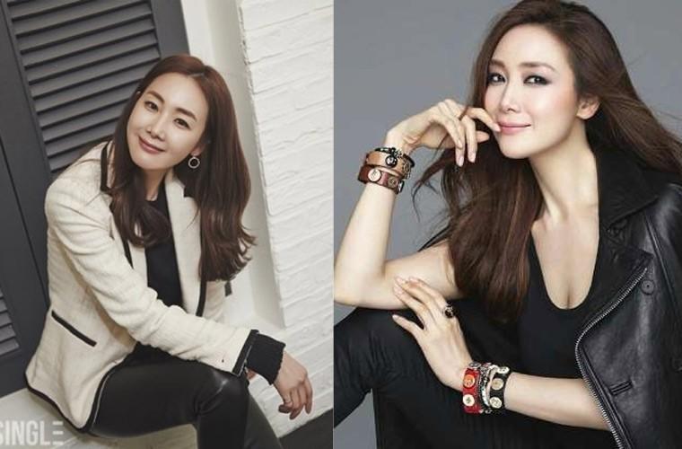 Choi Ji Woo giau co, vien man ben chong va con gai moi sinh-Hinh-8