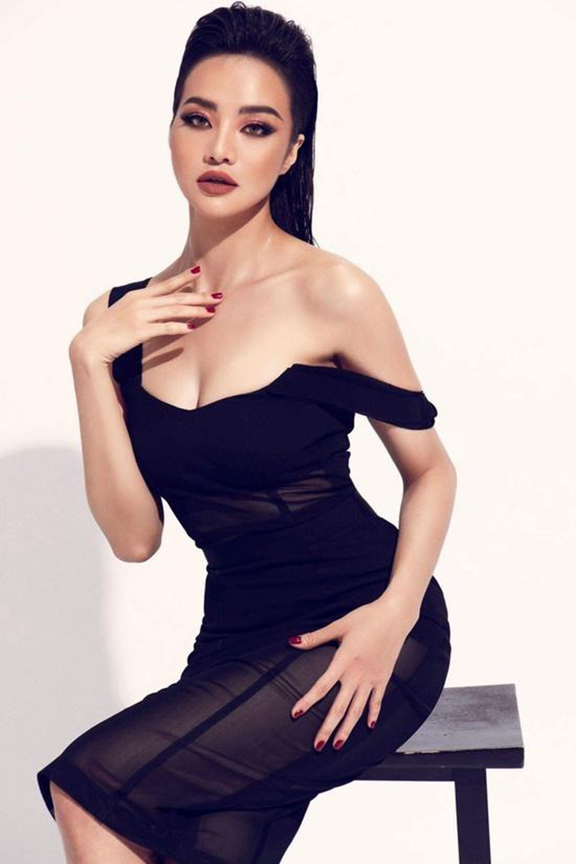 "Hoa hau Kieu Ngan gay sot voi bo anh thoi trang nong bong ""dot mat""-Hinh-4"