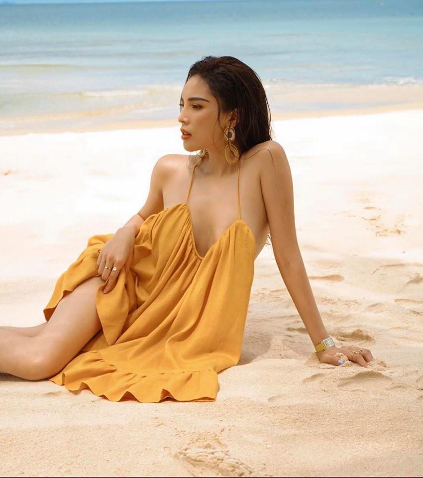 """Nhung bo do """"thieu dot mat"""" fan cua hoa hau Ky Duyen-Hinh-9"""