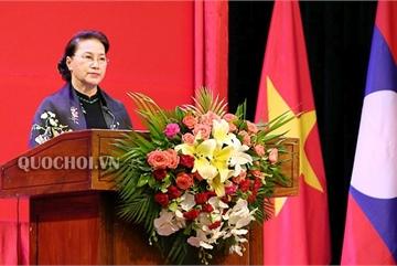 Chủ tịch QH trao Huân chương cho tập thể, cá nhân Quốc hộị Lào