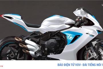 Siêu mô tô MV Agusta giá hơn 2,5 tỷ được bán đấu giá từ thiện