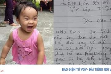 """Bé gái xinh xắn bị mẹ bỏ ở chùa để """"đi lấy chồng"""": Ở chùa, bé có ăn chay?"""