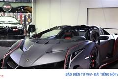 Ngắm Lamborghini Veneno Roadster với thân carbon độc nhất thế giới