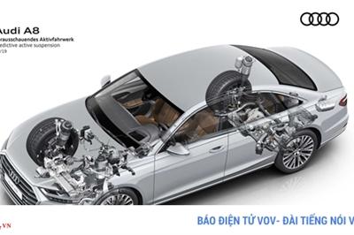 Khám phá hệ thống treo thông minh sẽ được trang bị trên Audi A8