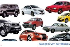 Top 10 chiếc xe phổ biến nhất tại Malaysia