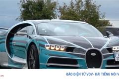 Mãn nhãn với siêu xe triệu đô Bugatti Chiron Sport Zebra