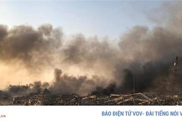 Gần 4000 người thương vong trong vụ nổ tại Lebanon