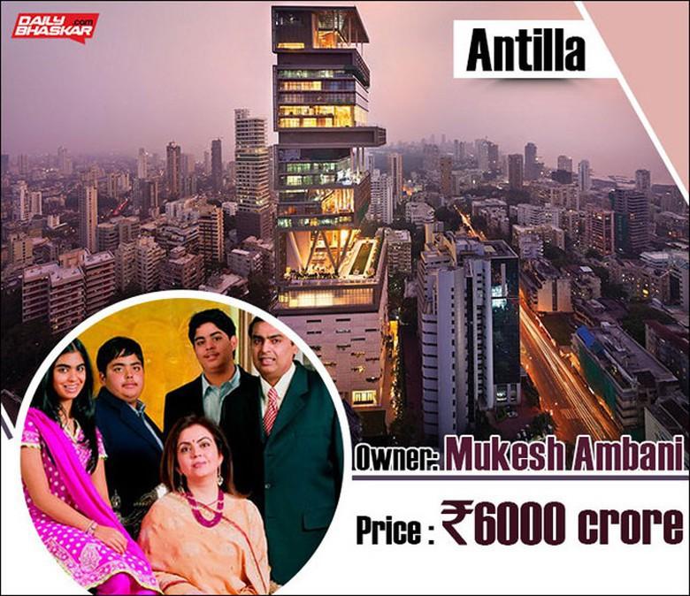 0 PVXZ Chiêm ngưỡng siêu biệt thự ở Mumbai của tỷ phú giàu nhất châu Á