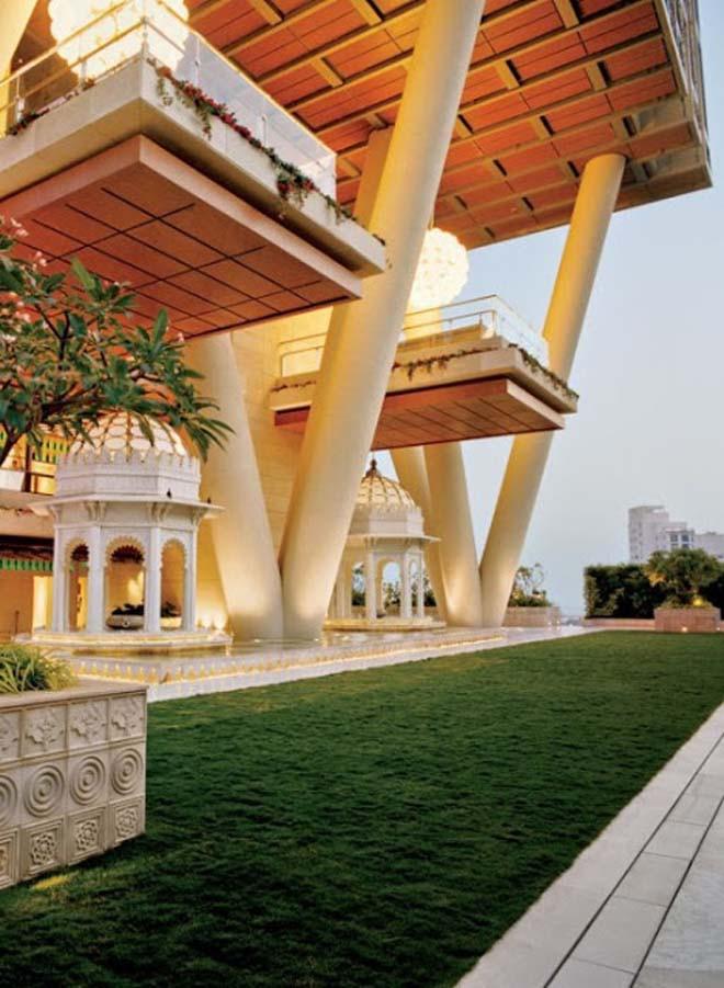 10 JLRF Chiêm ngưỡng siêu biệt thự ở Mumbai của tỷ phú giàu nhất châu Á