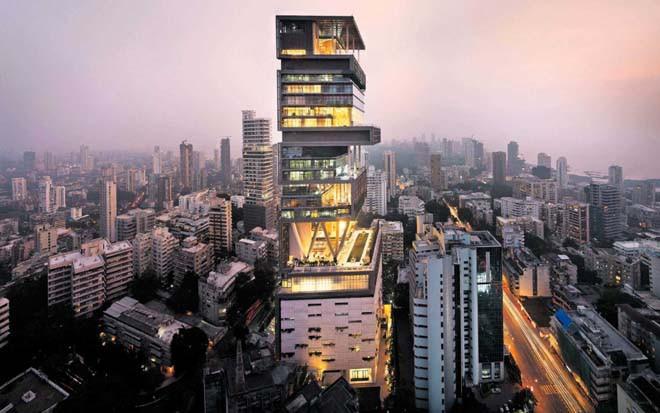 5 AWAA Chiêm ngưỡng siêu biệt thự ở Mumbai của tỷ phú giàu nhất châu Á