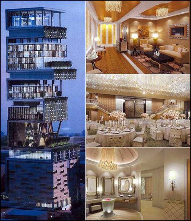 8 RNOK Chiêm ngưỡng siêu biệt thự ở Mumbai của tỷ phú giàu nhất châu Á
