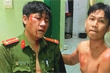 Cảnh sát khu vực bị 'con nghiện' tấn công gây thương tích nặng