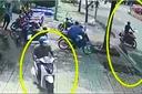 Đánh lạc hướng bảo vệ trộm xe SH trước ngân hàng