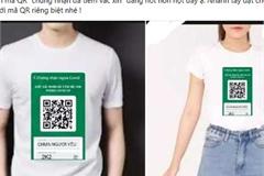 Bùng nổ dịch vụ in ấn mã QR tiêm chủng lên áo, thẻ đeo, ốp điện thoại, giá rẻ bất ngờ