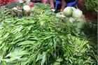 Trời mưa giá rau ở Hà Nội 'tăng phi mã', rau muống 24 nghìn/mớ
