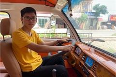 Học sinh lớp 12 ở Nam Định chế tạo ô tô năng lượng mặt trời