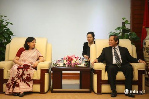 Thứ trưởng Trương Minh Tuấn tiếp đoàn Ủy ban kiểm soát ma túy Liên hợp quốc - ảnh 1