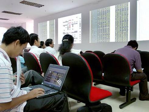 Cổ phiếu ngân hàng nhỏ rớt giá - ảnh 1