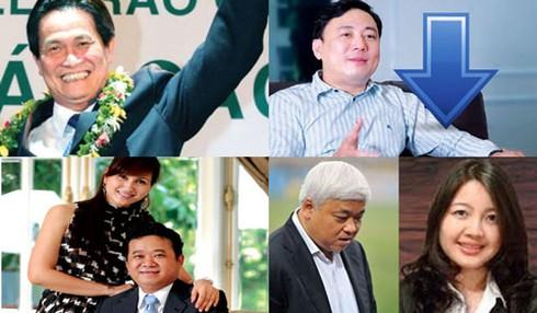 Vận hạn đè bốn đại gia trong top 10 tỷ phú Việt - ảnh 1