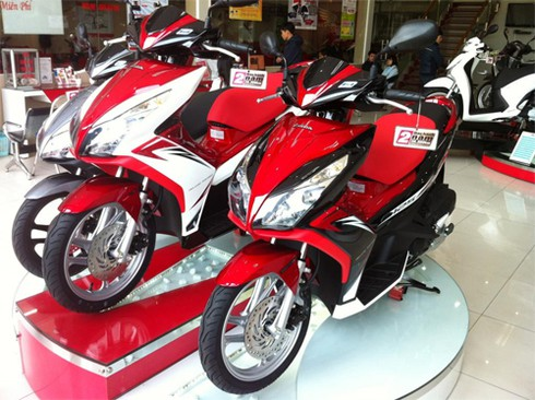 Honda công bố bán được 2 triệu xe Air Blade ở Việt Nam - ảnh 1