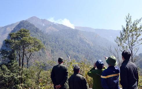 Hình ảnh vụ cháy rừng ở huyện Sa Pa (Lào Cai) - ảnh 3