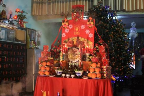 Lễ cúng giao thừa độc đáo ở Nam Định - ảnh 4