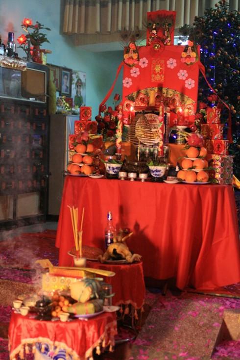 Lễ cúng giao thừa độc đáo ở Nam Định - ảnh 5