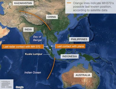 MH370 mất tích -