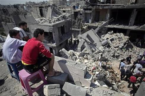 """Dải Gaza bị bằm nát, Mỹ lên tiếng """"muốn giúp đỡ"""" - ảnh 1"""