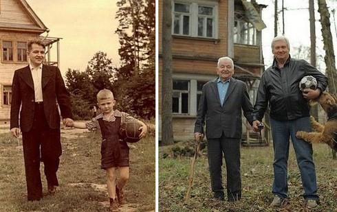 Rưng rưng cười với những bức ảnh gia đình hiện tại và quá khứ - ảnh 12