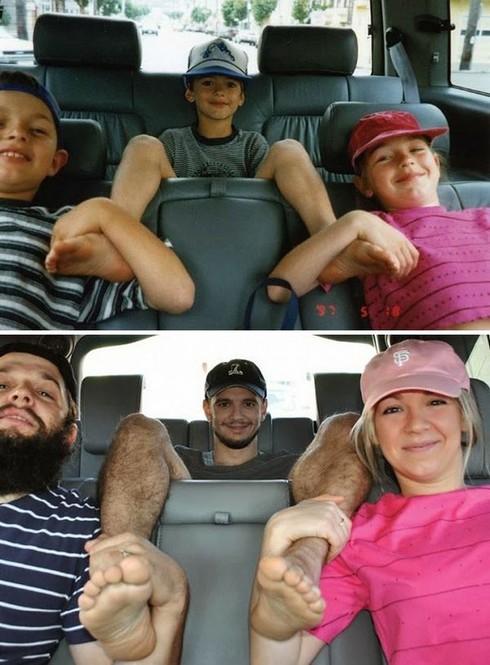 Rưng rưng cười với những bức ảnh gia đình hiện tại và quá khứ - ảnh 24