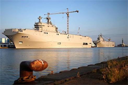 Mua từ Pháp, nhưng Ai Cập lại muốn Nga hoàn thiện tàu Mistral - ảnh 1