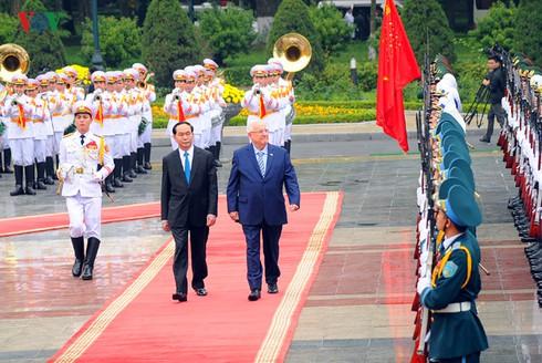 Tổng thống Israel thăm chính thức Việt Nam - ảnh 1