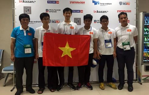 Việt Nam dành 2 huy chương Vàng tại Tin học Olympic quốc tế - ảnh 1