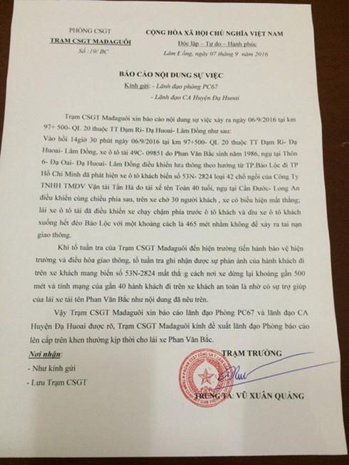 Công an Lâm Đồng: Cứu xe khách xong anh Bắc rất run. Chúng tôi bảo vệ anh Bắc! - ảnh 3