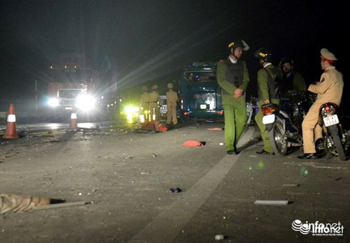 Khởi tố vụ án nổ xe giường nằm khiến 16 người thương vong - ảnh 2