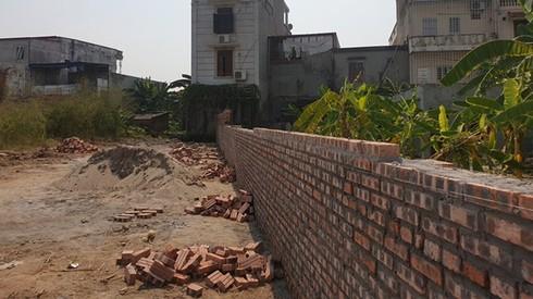 Một lô đất ở đường 7 tháng 3, nơi xảy ra tình trạng giang hồ