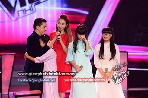 Giọng hát Việt nhí 2014, tập 3, vòng Đối đầu: Huyền Trân tỏa sáng - ảnh 3