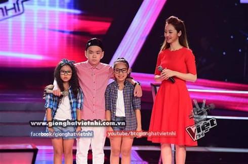 Giọng hát Việt nhí 2014, tập 3, vòng Đối đầu: Huyền Trân tỏa sáng - ảnh 4