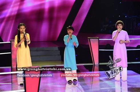 Giọng hát Việt nhí 2014, tập 3, vòng Đối đầu: Huyền Trân tỏa sáng - ảnh 5