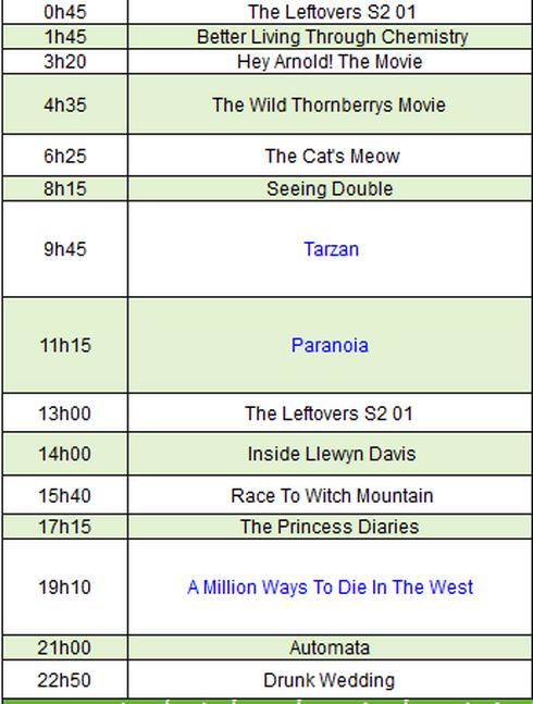 Lịch phát sóng VTV1, VTV3, HBO, Starmovies ngày 8/10 - ảnh 2