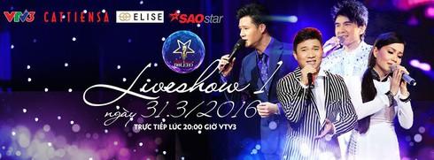 Xem liveshow 1 Thần tượng Bolero 2016 ngày 31/3 online trên VTV3 - ảnh 1