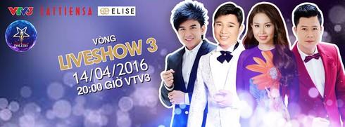 Xem liveshow 3 Thần tượng Bolero 2016 ngày 14/4 online trên VTV3 - ảnh 1