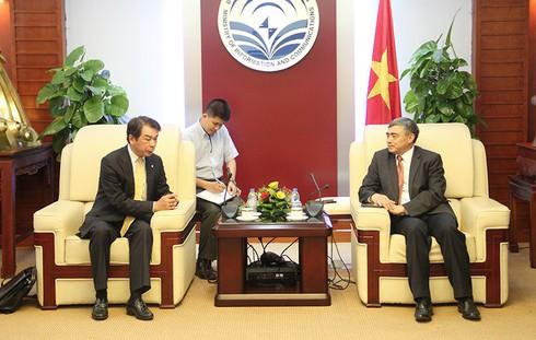 Thứ trưởng Nguyễn Minh Hồng tiếp Đoàn công tác Tập đoàn Hitachi Nhật Bản - ảnh 1