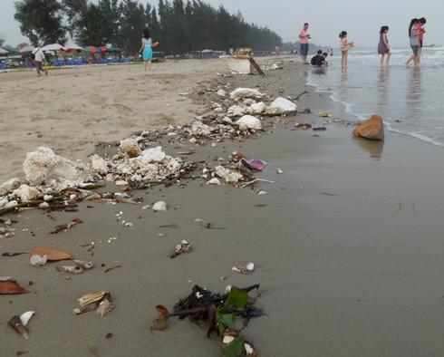 Nghỉ lễ, phát hoảng với rác thải ngập tràn bãi biển Trà Cổ - ảnh 14